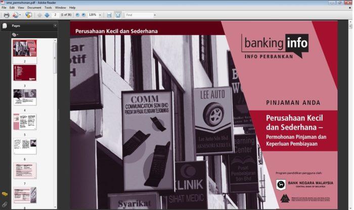 Panduan Bank Negara