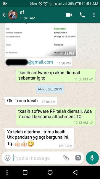 Testimoni Software Rancangan Perniagaan